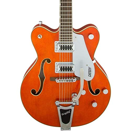 Gretsch Guitars G5422T Electromatic Double Cutaway Hollowbody Electric Guitar Orange Stain