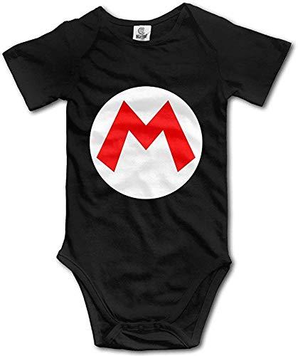 Dezzert030 Super Mario Logo Baby-Strampler-Baby