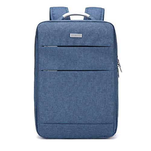 Notizbuchtaschen Schlanke Business Laptop Rucksack USB Anti Thief/Tear Water Resistant Travel Computer Rucksack,Blue