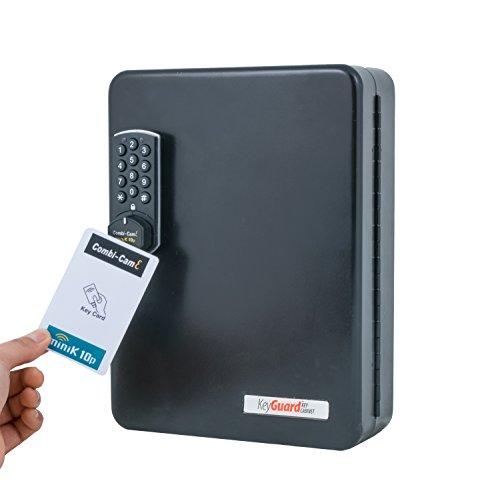 Keyguard sl-8548-r electrónico Armario con Combi-CAM e y RFID Tarjeta de Clave Acceso–48Gancho