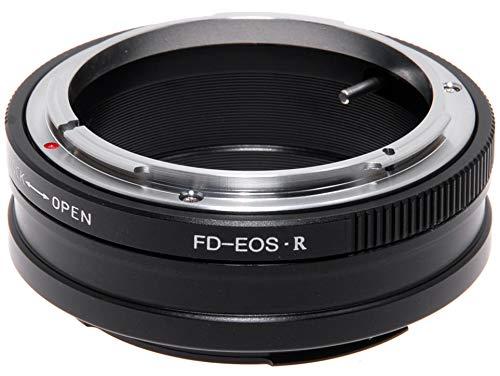 Adapter para Objetivos Canon FD Manual Focus sobre Cámara Canon EOS R. Adaptador.