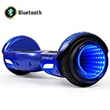 FLYING-ANT Hoverboard Off Road All Terrain Self Balancing Scooters 6.5' Flash Two-Wheel Self Balancing Hoverboard with Bluetooth Speaker and LED Lights for Kids and Adults Gift