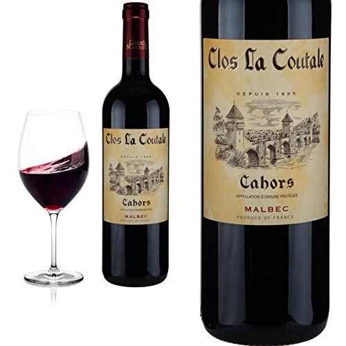 6er Karton 2018 Cahors von Clos la Coutale Malbec - Rotwein
