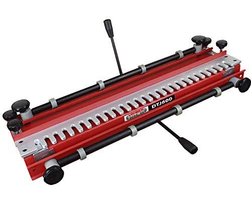 Lumberjack DTJ600 - Plantilla de cola de milano de 600 mm con plantilla de 1/2 pulgadas y cortador de enrutador