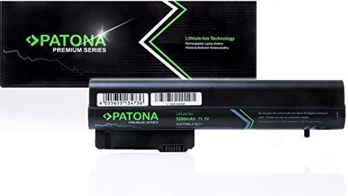 PATONA Premium (5200mAh) Ersatz für Laptop Akku HP Compaq 2400 | 2510p | NC2400 | EliteBook 2530p | 2540p | 2533t