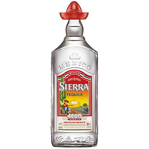 Sierra Tequila Silver - Echter mexikanischer Tequila aus Jalisco (1 x 1,0l)