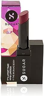 SUGAR It's A-Pout Time! Vivid Lipstick, 01 The Big Bang Berry (Wine)