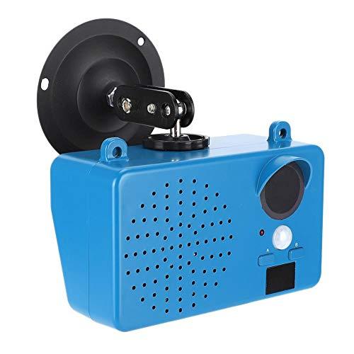 Prompter de voz infrarroja, tecnología de inducción piroeléctrica humana Inducción del cuerpo humano, función de alerta de bajo voltaje para exteriores en casa