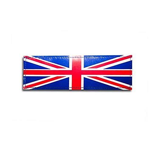 Julius-K9 162LG-NF-UK klittenbandopschrift, nationale vlag, Groot-Brittannië, groot, één paar
