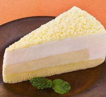 味の素 業務用 ダブルチーズケーキ(カット済み) 1箱(6個入) 冷凍食品