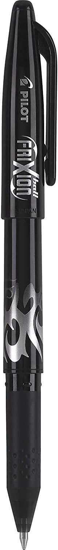 2-Pack Black Ink - 1 31553 Fine Point PILOT FriXion Ball Erasable /& Refillable Gel Ink Stick Pens