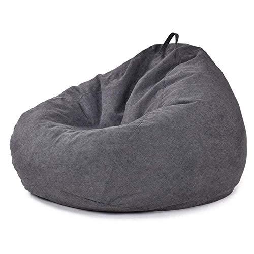 XZKHL Bean Bag - Sillón de tela para sofá o cama, silla simple, para salón, dormitorio, tami sofá, silla, B, 80 x 90 cm