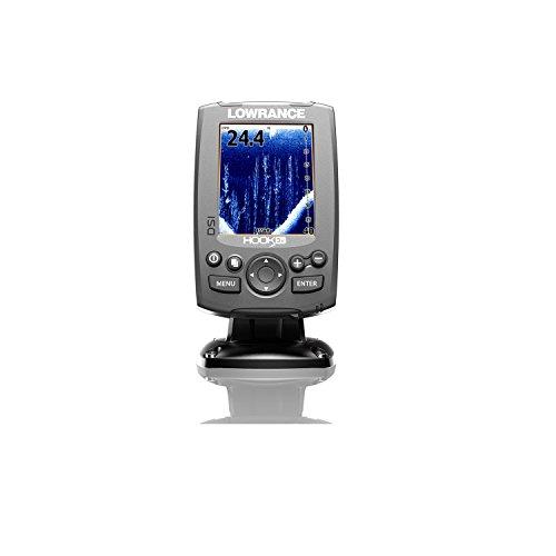 『Lowrance 000-12636-001 Hook-3X DSI Sonar, W/455/800 XDCR [並行輸入品]』のトップ画像