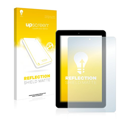 upscreen Entspiegelungs-Schutzfolie kompatibel mit Medion Lifetab E10501 (MD 60240) – Anti-Reflex Bildschirmschutz-Folie Matt
