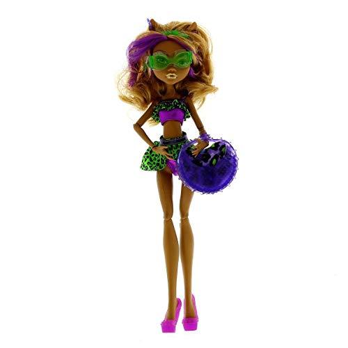 Mattel Monster High Schwimm Kollektion Clawdeen Wolf Puppe exklusiv
