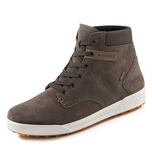 Lowa Herren Dublin III GTX QC Hohe Sneaker, Braun (Stone/Dark Brown), 44 EU