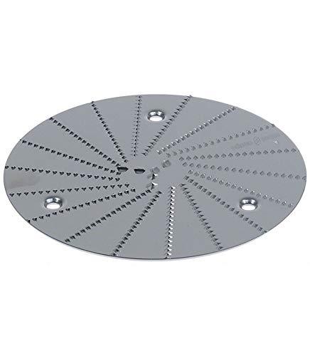 Disco rallador adaptable para exprimidor eléctrico Ø 126 mm Robot-Coupe licuadora J80 Ultra chiskoit 349794