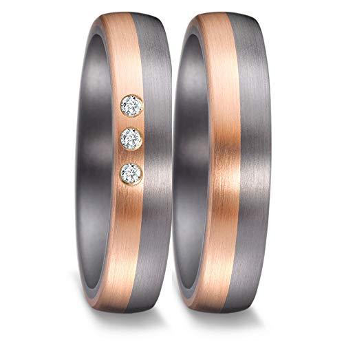 Trauringe Eheringe Verlobungsringe TANTAL Gold 585 Brillant Made in Germany TOP