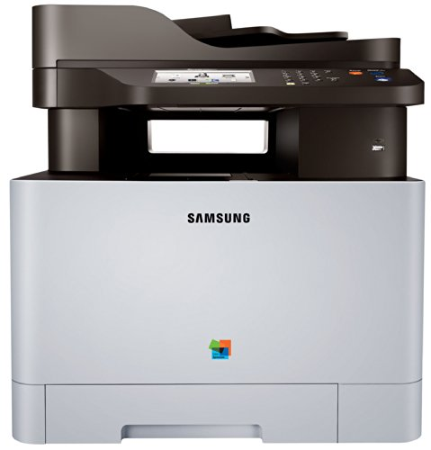 "Samsung Xpress C1860FW Color Laser MFP (19 ppm) (533 MHz) (256 MB) (8.5"" x 14"") (9600 x 600 dpi) (Max Duty Cycle 40000 Pages) (p/s/c/f) (USB) (Ethernet) (Wireless) (Touchscreen) (250 Sheet Input Tray) (1 Sheet Multipurpose Tray) (50 Sheet ADF)"
