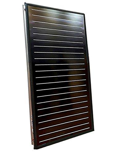 Pannello solare termico alta efficienza, circolazione forzata, tubazione interna a meandro, acqua calda sanitaria (2 mq)