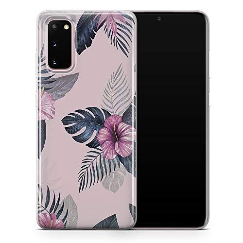 Funda para teléfono con hojas tropicales verdes, cubierta con diseño floral para Samsung Galaxy S10 Lite – Delgada y suave TPU silicona parachoques – Diseño 5 – A53