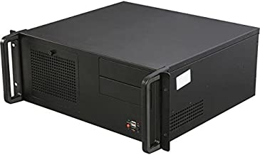 Rosewill RSV-R4100-4U Rackmount Server Case/Chassis - 8 Internal Bays, 2 Included Cooling Fans