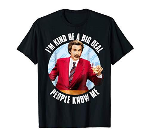 Anchorman Ron Burgundy I'm Kind of a Big Deal T-Shirt