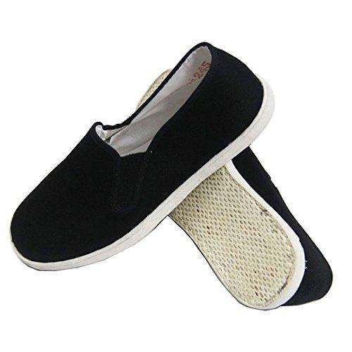 [ファークロス] Yuanbu 太極拳シューズ 布靴 太極拳 少林寺拳法 空手 カンフー スニーカー (250mm)