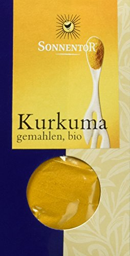 Sonnentor Kurkuma gemahlen, 1er Pack (1 x 40 g) - Bio