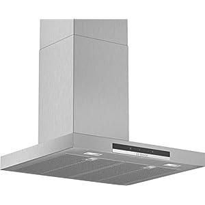 Bosch Serie 4 DWB67IM50 – Campana decorativa, 60 cm, T invertida, Acero inoxidable, Tecnología TouchControl [Clase de…