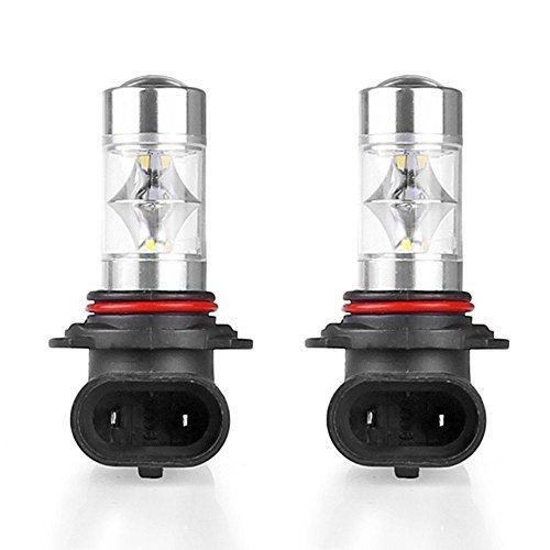 katur 1 60 W Ampoules à LED 9006 HB4 foglamps lumineux Ampoules Feux de circulation diurnes conduite ampoules 126