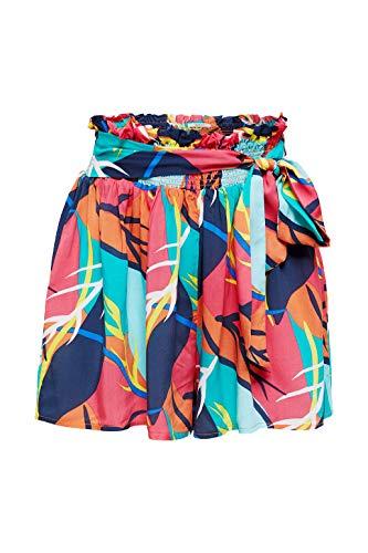 ESPRIT wear Damen Tilly Beach Acc Woven short Überwurf für Schwimmbekleidung, 825, XL