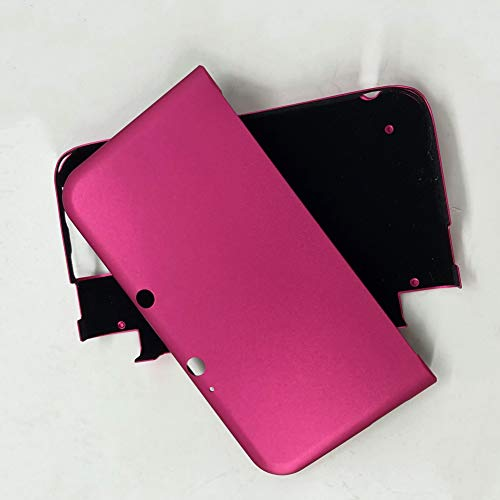 GOZAR Mehrfarben-Aluminium-Hartmetall-Fall-Shell für 3DS XL LL - Rose Red