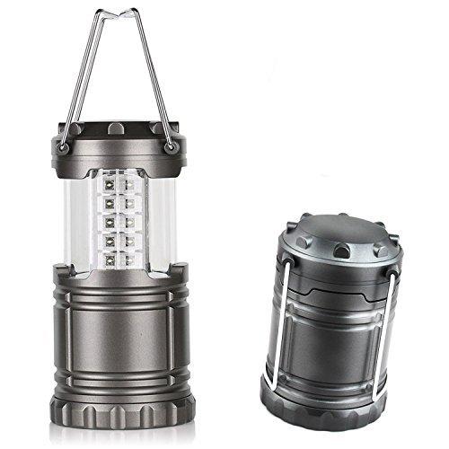 Générique Ultra Bright LED Lanterne de camping, Gris