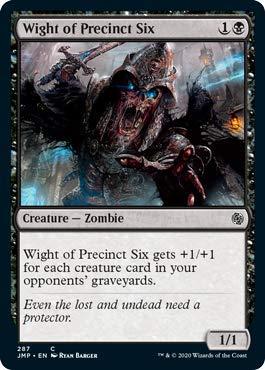 Magic: The Gathering - Wight of Precinct Six - Jumpstart