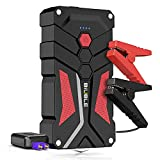 BIUBLE Car Battery Starter, 1000A Peak 12800mAh 12V Car Auto Jump Starter Power Pack with USB Quick Charge 3.0 (Up to 7L Gas or 5.5L Diesel Engine)