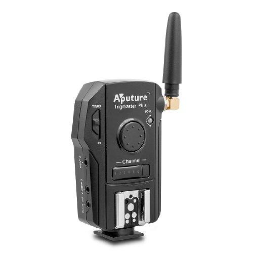Aputure Trigmaster Plus TX1S Disparador Remoto y Receptor para Sony Alpha A500...