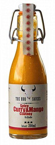 Feuer & Glas Spicy Curry & Mango Chutney BBQ Sauce 200ml
