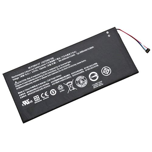 YNYNEW Replacement 3165142P(1ICP/4/65/142) Tablet Battery for Acer A1402,Iconia One 7 B1-730,B1-730HD,B1-730HD 16GB Wi-Fi,B1-730HD-170L