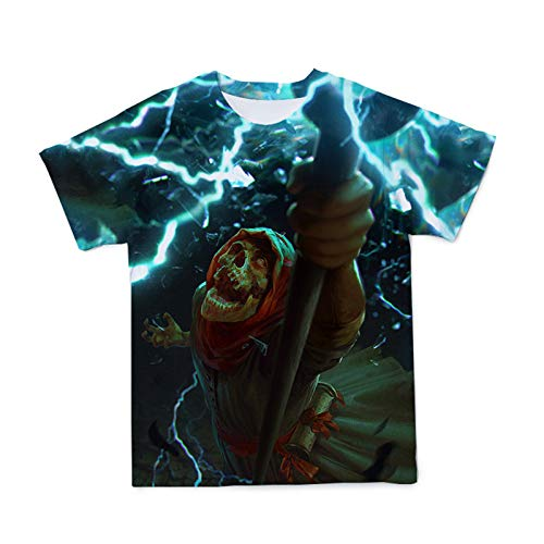 SSBZYES Camiseta De Talla Grande para Hombre Camiseta De Manga Corta De Talla Grande para Hombre Camiseta De Manga Corta con Estampado De Talla Grande para Hombre Moda De Marca De Moda Calavera
