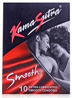 Kama Sutra Smooth Condoms (10 Pcs) Pack of 4