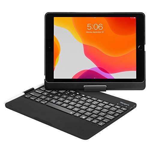 Targus THZ857DE VersaType for iPad (8th and 7th Gen) 10.2 inch, iPad Air 10.5 inch, iPad Pro 10.5 inch (German) - Black
