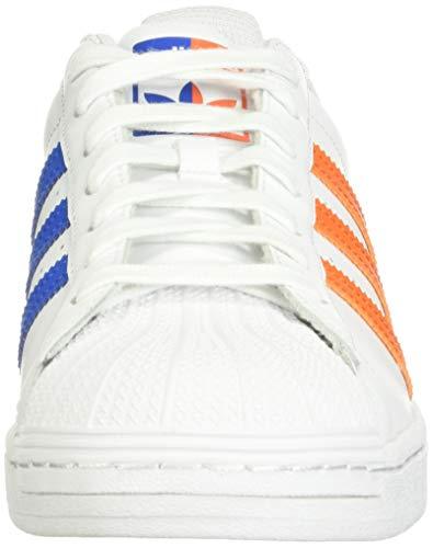 adidas Originals Zapatillas Superstar para Hombre, Color Blanco, Talla 36 1/3 EU