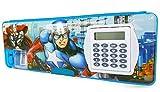 Shifaa Enterprise Multipurpose Magnetic Pencil Box with Calculator & Dual Sharpener for Girls
