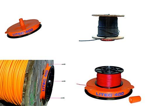 Litec 400 Kabel Abroller Profi-Gerät Kabelabroller Kabelhaspel Leitungsabroller