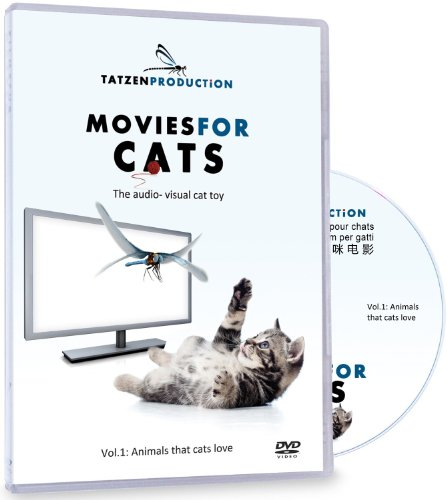 Movies for Cats, The Audio-visual Cat Toy, Catsitter - Vol.1