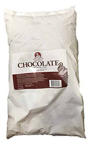 Chef's Quality Soft Serve Mix Bag, Chocolate Ice Cream Mix, 6 Lb