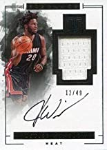 Justise Winslow Autographed 2016-17 Panini Impeccable Jersey Card - Basketball Autographed Game Used Cards