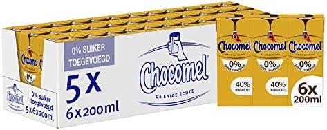Chocomel Mini 0% Suiker 5 x 6 x 200 ML