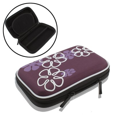 ASDHOI Universal Mini Digitale Camera Bag, een universele case for digitale camera, GPS, NDS, NDS Lite, Grootte: 135x80x25mm (Color : Purple)